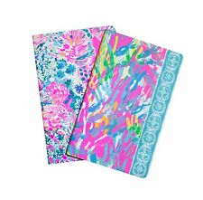 LILLY PULITZER SPARKLING SANDS Student Pocket Notebook Set / 2  Planner Schedule