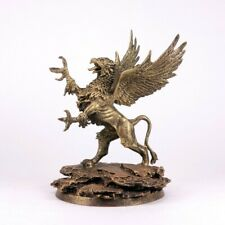 Tin Toy Soldier Assembled Unpainted Griffin 85mm Miniature