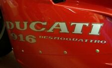 DUCATI 916 FAIRING DECAL STICKER GRAPHICS/ PAIR LEFT AND RIGHT SIDES