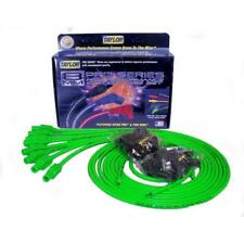 Taylor Spark Plug Wire Set 78555; Spiro Pro 8.0mm Lime Green Universal V8