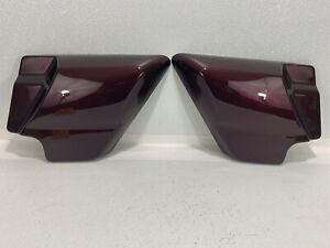 09-20 Harley Road Street Glide Twisted Cherry Side Covers Fairings Set OEM