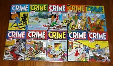 Crime Does Not Pay Archives Volumes 1-10, SEALED, Dark Horse Comics hardcovers