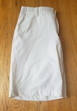 Under Armour Golf Shorts White Heat Gear mens sz 34 loose  MINT