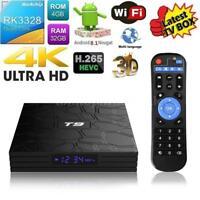 T9 Android 8.1 Smart TV BOX RK3328 Quad Core 4GB/32GB BT4.0 USB3.0 WiFi 4K Media