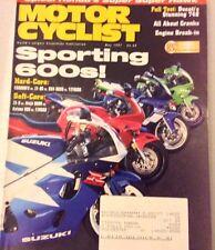 Motor Cyclist Magazine CBR600F3 Vs ZX-6R May 1997 073017nonrh