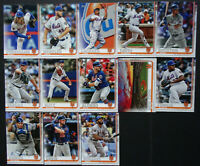2019 Topps Series 2 New York Mets Baseball Cards Base Team Set Pete Alonso