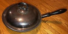 """Antique  Mappin & Webb """"Princes' Plate Victorian Silver Double Wall Steamer Fry"""
