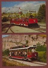 Blackpool & Fleetwood 'Toast Rack' Trams postcards    zc.325