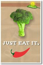 Just It It - Broccoli - NEW Health and Nutrition Healthy Eating Diet POSTER