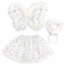 Set Angelo, Bianco, Tutu Ali Aureola One Size Bambina PS 05445