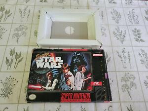 Super Star Wars - Super Nintendo - SNES - Authentic - Box Only!