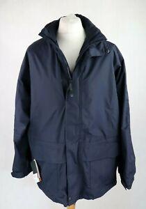 Mens REGATTA Isotex 10000 Waterproof Jacket SIZE LARGE Rain coat Mesh lined Navy