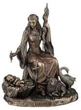 Frigga Frigg moglie di Odino 20 cm personaggio bronzierte, collezione veronese, nuovo