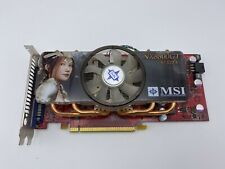 MSI NVIDIA GeForce 8800 GT 512M OC NX8800GT-T2D512E-OC GRAPHICS VIDEO CARD