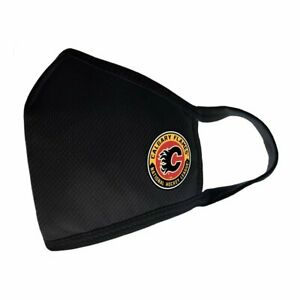 Calgary Flames NHL Team Logo Face Cover with Filter