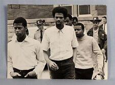 1968, BLACK protesters arrested, ORIGINAL press pic, ILLINOIS, urbana-champaign