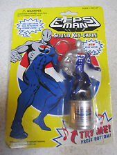Rare PEPSI MAN Sound Key Chain 1998 Japan Plays Theme Song highly collectable