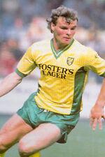 Football Photo>ROBERT FLECK Norwich City 1980s