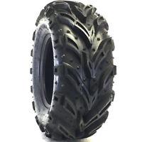 2 Deestone D936 Mud Crusher 22x11-8 22x11x8 48F 6 Ply M/T ATV UTV Mud Tires