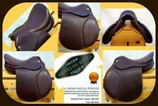 "15"" W Oak Bk Brown Henri Dr Hdr All Purpose Advantage Pony CrossC Lesson Saddle"