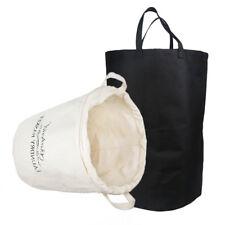 Foldable Extra Large Storage Laundry Hamper Clothes Basket Canvas Organizer Usa