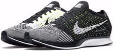 Nike Flyknit Racer Black/White/White (526628 011) Women's 9 / Men's 7.5