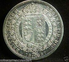 1887  Half Crown  UK