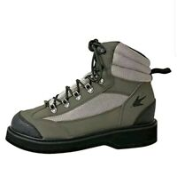 Brand New Frogg Toggs Hellbender Felt Sole Wading Shoe Green/Silver Size 7 New