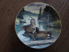 The Blue-Winged Teal 1988 Limited Edition Bart Jerner Collector Plate No. 3454B