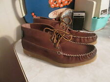 Eastland Urban Outfitters Oneida 1955 Shoe Boots Suede  Mocassin Brown size 8 D