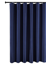 Biscaynebay Fabric Shower Curtain Liner, Waterproof Water Resistant Bathroom 72