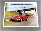 1966 MG MGB B GT  Vintage Original Car Sales Brochure Catalog