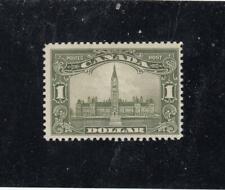 CANADA /KSG1341  # 159  FVF-MLH  $1 1929 PARLIAMENT BUILDING /OLI-GREEN  CV $375
