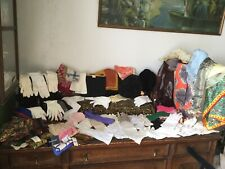 Massive Vintage Lot Gloves, Scarves, Purse Hats