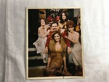 RUSS MEYER Film Director 8x10 Autographed Photograph On Set With Cast (Vixens?)