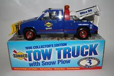 SUNOCO 1996 COLLECTOR'S EDITION TOW TRUCK WITH SNOW PLOW, THIRD IN A SERIES