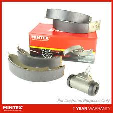 VW Polo 6N1 64 1.9 D Variant3 Mintex Rear Brake Shoe Kit & Cylinder