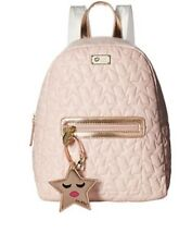 Betsey Johnson Blush & Rose Gold QUILTED STARS Backpack Bag NWT