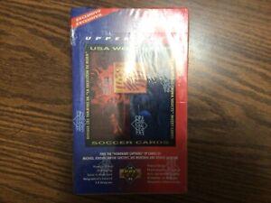 1993 UPPER DECK WORLD CUP SOCCER SEALED BOX POSSIBLE JORDAN 36 PACKS