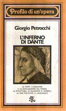 N72 L'inferno di Dante Petrocchi BUR Rizzoli 1978