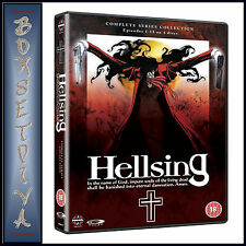 HELLSING  - THE COMPLETE ORIGINAL SERIES COLLECTION **BRAND NEW DVD BOXSET **