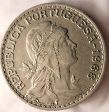 1968 PORTUGAL ESCUDO - Uncommon Vintage Coin - PORTUGAL BIN #1