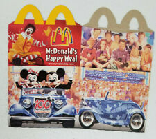 2002 McDonalds Walt Disney 100 Years of Magic Happy Meal Box
