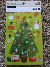 Advent Sticker Book By Recollections™ 528493 NEW