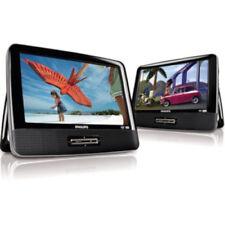 "Philips 9"" V Dual-Screen Portable DVD Player - Black (RBPD9016P/37S)"