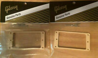 Gibson Cream Pickup Rings Set Les Paul SG ES Guitar Humbucker Creme / Genuine