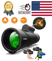 Monocular Telescope - 12X50 High Power 【HD Monocular for Bird Watching】 with Sma