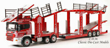 Car Transporter Quinns Red Scania EVO6 1/76 OO Scale Oxford Diecast 76SCT002