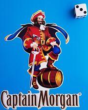 """Captain Morgan RUM Adhesivo Calcomanía ventana, Bar, parachoques, MANCAVE 5x4"""""""
