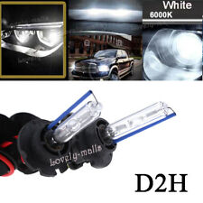 6000K 55W D2H HID Xenon Light Bulbs Compatible with D2S/D2R/D2C/D4S for Retrofit